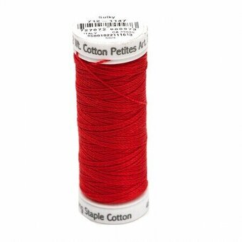 Christmas Red - Sulky 12wt Cotton Petites Thread 50 yds