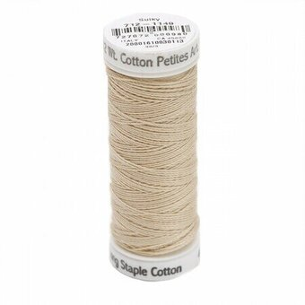 Deep Ecru - Sulky 12wt Cotton Petites Thread 50 yds