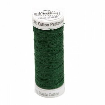 Dark Pine Green - Sulky 12wt Cotton Petites Thread 50 yds