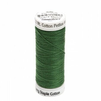 Dark Avocado - Sulky 12wt Cotton Petites Thread 50 yds