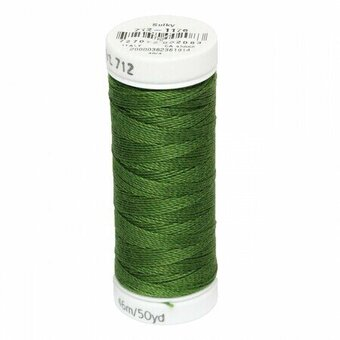 Medium Dark Avocado - Sulky 12wt Cotton Petites Thread 50 yd