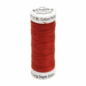 Rust - Sulky 12wt Cotton Petites Thread 50 yds