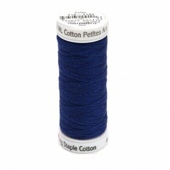 Admiral Navy - Sulky 12wt Cotton Petites Thread 50 yds