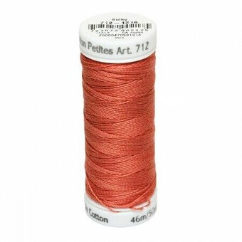 Medium Maple - Sulky 12wt Cotton Petites Thread 50 yds