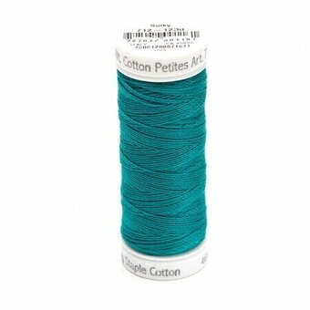 Dark Teal - Sulky 12wt Cotton Petites Thread 50 yds