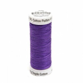 Deep Purple - Sulky 12wt Cotton Petites Thread 50 yds
