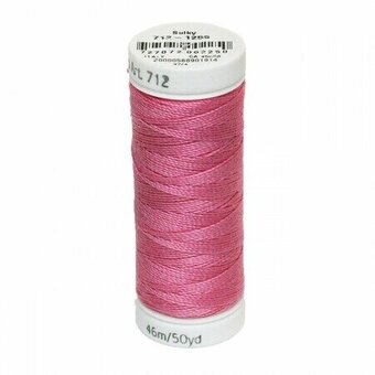 Sweet Pink - Sulky 12wt Cotton Petites Thread 50 yds