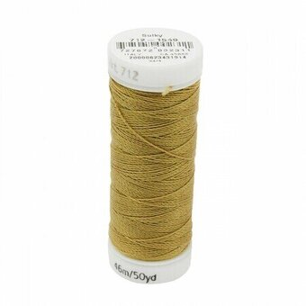 Flax - Sulky 12wt Cotton Petites Thread 50 yds