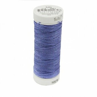 Deep Hyacinth - Sulky 12wt Cotton Petites Thread 50 yds