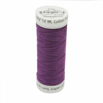 Plum Wine - Sulky 12wt Cotton Petites Thread 50 yds