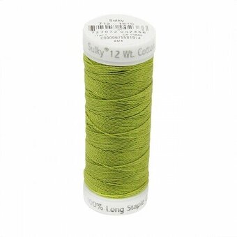 Japanese Fern - Sulky 12wt Cotton Petites Thread 50 yds