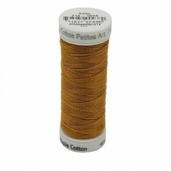 Galley Gold - Sulky 12wt Cotton Petites Thread 50 yds