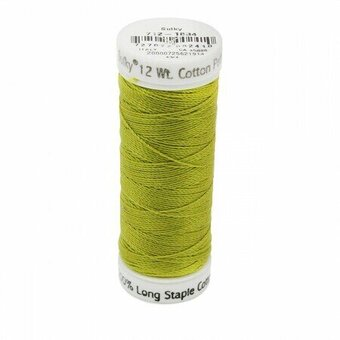 Pea Soup - Sulky 12wt Cotton Petites Thread 50 yds