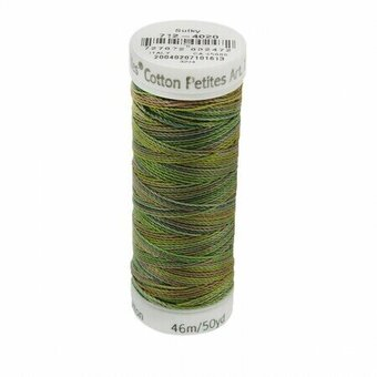 Moss Medley - Sulky 12wt Blendables Cotton Petites Thread