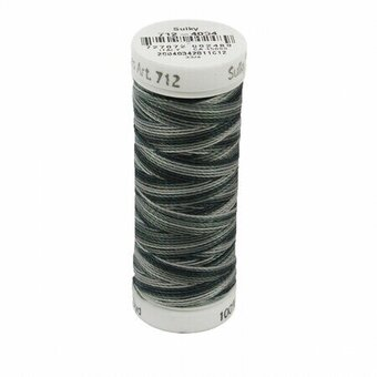 Soft Blacks - Sulky 12wt Blendables Cotton Petites Thread