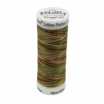 Summer Woods - Sulky 12wt Blendables Cotton Petites Thread