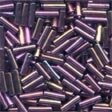 Mill Hill 72051 Royal Mauve Bugle Beads - 6mm Long