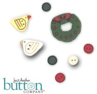 Birdie Holiday - Buttons