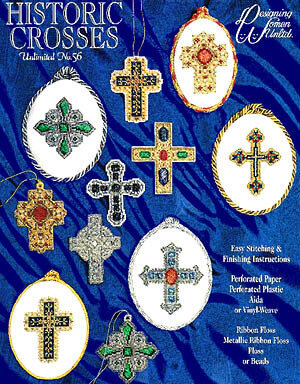Historic Crosses - Cross Stitch Pattern