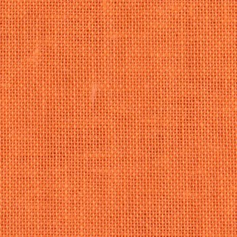 28 Count Tropical Orange Linen Fabric 18x27