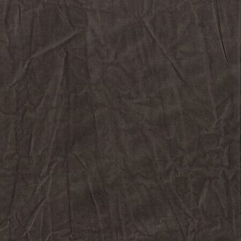 Brown Aged 100% Cotton Muslin Fabric Half Yard