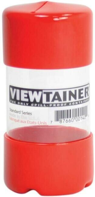 Viewtainer Slit Top Storage Container 2x4 - Red