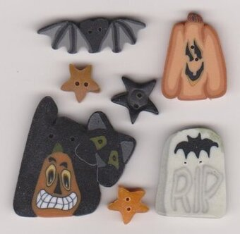 Buttons for Be A Witch