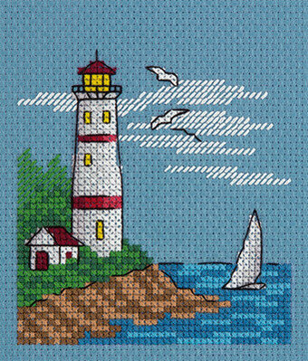 White Sail - Cross Stitch Kit
