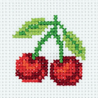 Sweet Cherry - Cross Stitch Kit