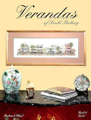Verandas Of South Battery - Cross Stitch Pattern
