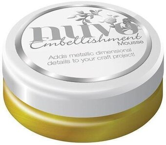 Nuvo Embellishment Mousse - Indian Gold
