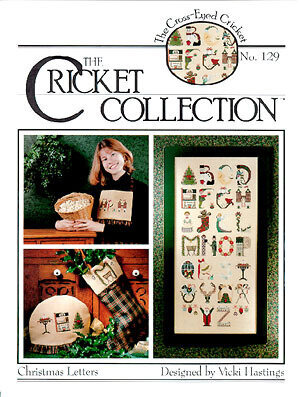 Christmas Letters 129 - Cross Stitch Pattern