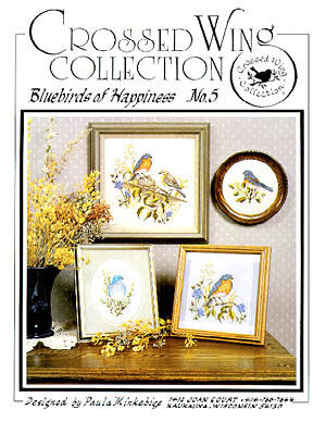 Bluebirds Of Happiness - Cross Stitch Pattern