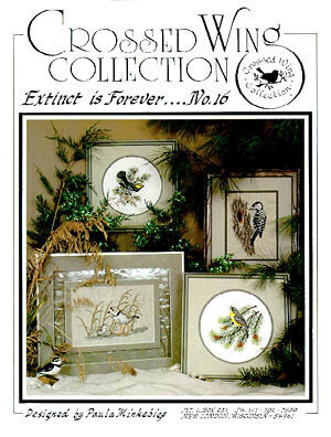 Extinct Is Forever - Cross Stitch Pattern