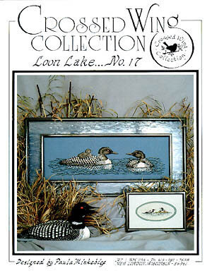 Loon Lake - Cross Stitch Pattern