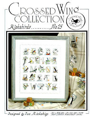 Alphabirds - Cross Stitch Pattern