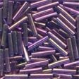 Mill Hill 82051 Royal Mauve Bugle Beads - 9mm Long