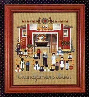 Grandfathers Barn - Cross Stitch Pattern