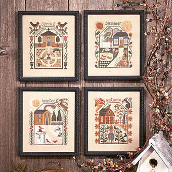 Prairie Schooler Prairie Seasons Cross Stitch Pattern