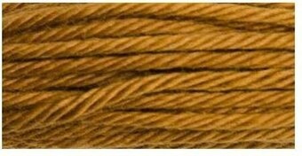 DMC Soft Matte Cotton Thread - 2151 Dark Yellow Beige