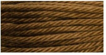 DMC Soft Matte Cotton Thread - 2153 Very Dark Yellow Beige