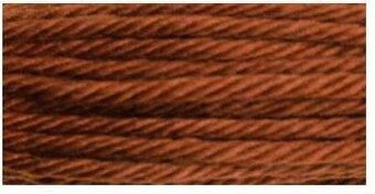 DMC Soft Matte Cotton Thread - 2400 Dark Mahogany