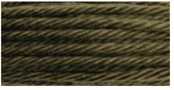 DMC Soft Matte Cotton Thread - 2468 Ultra Dark Beaver Gray