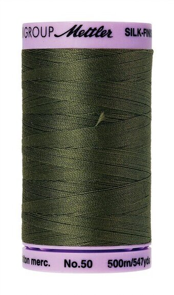 50wt Mettler 547yd Cotton Thread - 0731 Burnt Olive