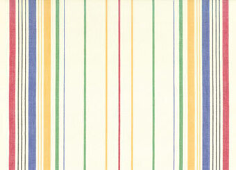 "Cherry Multi Stripe 16"" x 18"" Toweling Fabric"