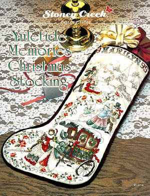 Yuletide Memories Christmas Stocking - Cross Stitch Pattern