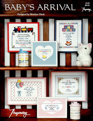 Baby's Arrival - Cross Stitch Pattern