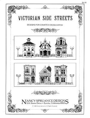 Victorian Side Streets - Cross Stitch Pattern