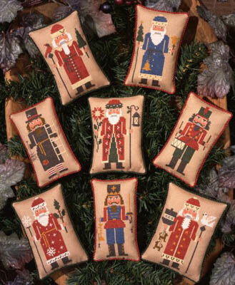 Nutcrackers - Cross Stitch Pattern