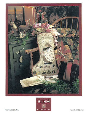 Teri's Stocking - Cross Stitch Pattern